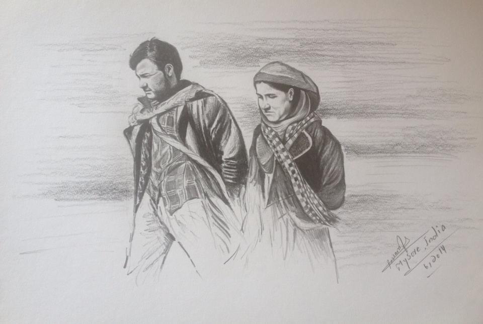 زوج فراری و عاشق بامیانی