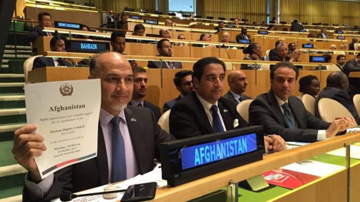 تعهد افغانستان برای مبارزه با تروریسم پس از عضویت در شورای جهانی حقوق بشر سازمان ملل متحد