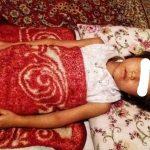 دختر پنج سالهی افغان