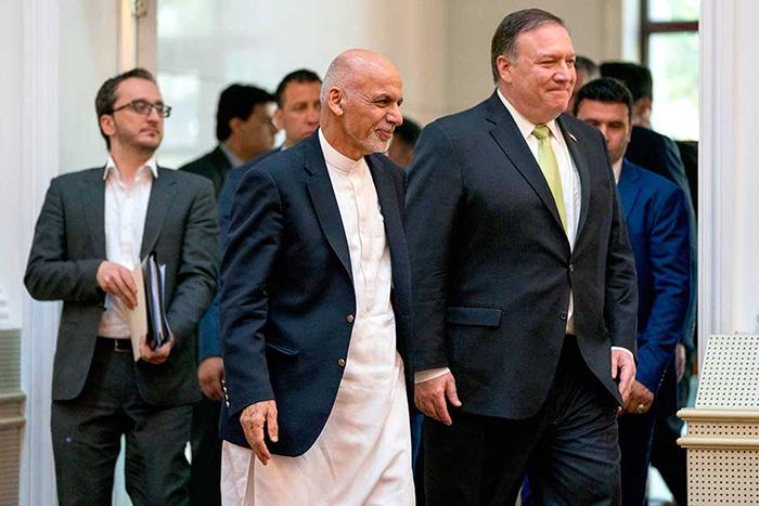 به دنبال مذاکرات مستقیم با طالبان باشید