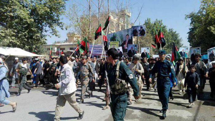 هفتمین روز اعتراض در شمال؛ معترضان خواستار بازگشت جنرال دوستم به کشور اند