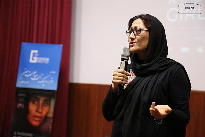 صحرا مانی کارگردان فلم هزار و یک زن چون من