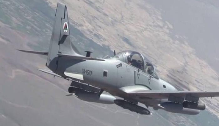 بر اثر حمله هوایی در فراه ۴۱ طالب مسلح کشته و زخمی شدند