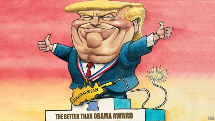 دونالد ترمپ در مورد افغانستان بهتر از اوباما عمل میکند