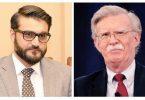 جان بولتون: امریکا در راستای مبارزه با تروریزم با مردم افغانستان متعهد است