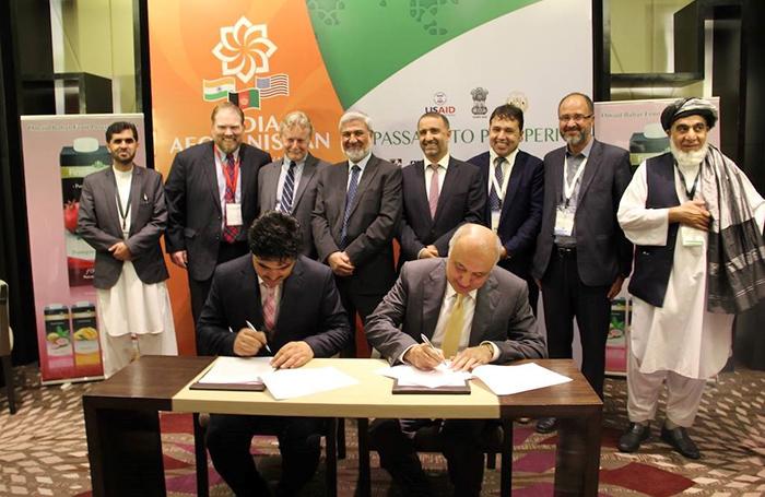 دومین نمایشگاه افغانستان در هند؛ فراوردههای کشاورزی افغانستان 60 میلیون دالر فروش داشته است