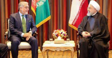 عبدالله عبدالله و حسن روحانی