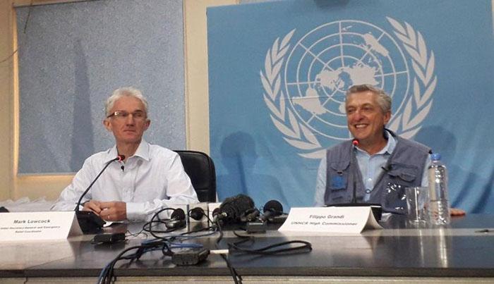 فلیپو گراندی، کمیسار عالی سازمان ملل در امور پناهندگان