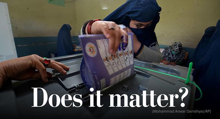 ناامیدی در قلب انتخابات افغانستان