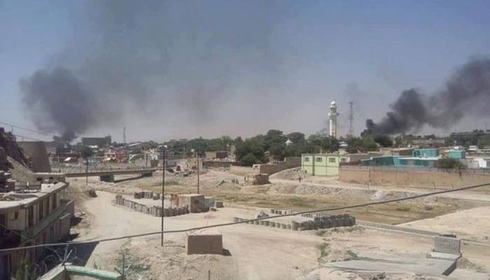 در ۱۹ اسد امسال، صدها تن از جنگجویان طالب حملات گستردهیی از چهار سمت به شهر غزنی راهاندازی کردند.