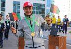 مبارزی که مدالهایش شادی و غرور افغانستان است