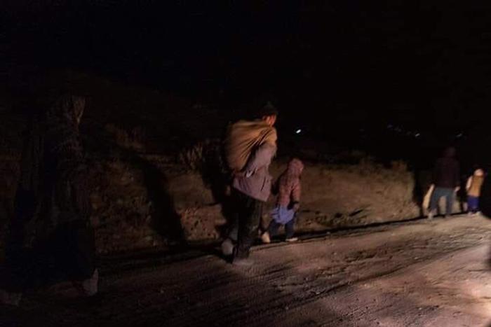 جنگ در سرزمین معارف؛ هزاران آواره به بامیان، غزنی و کابل رسیدند