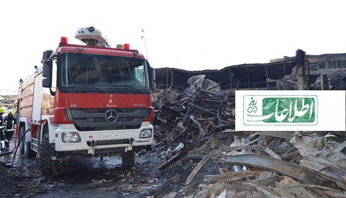 سرمایههای که دود شد؛ ضعف آتشنشانی یا ساختمانهای غیرمعیاری؟