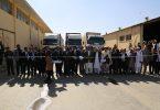 ارسال اولین محمولهی تجارتی تحت سیستم «تیر» از افغانستان به پاکستان