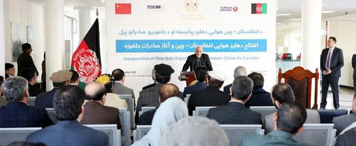 جلغوزهی افغانستان روی سفرهی چینیها میرود