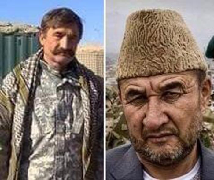جنرال باشی حبیبالله و قوماندان سلام اکرمی از چهرههای ضد طالب در غزنی