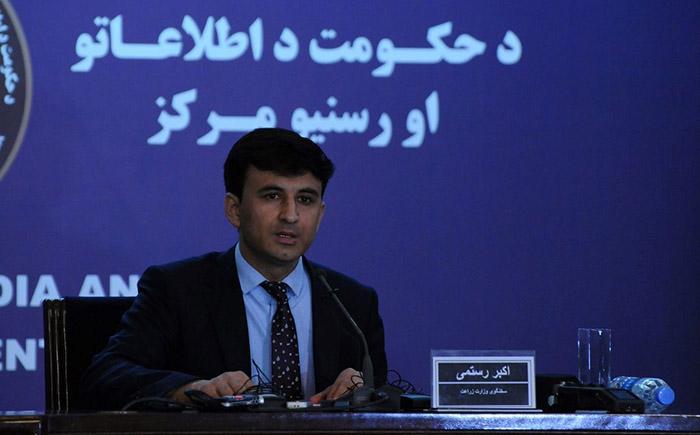 اکبر رستمی، سخنگوی وزارت زراعت و مالداری