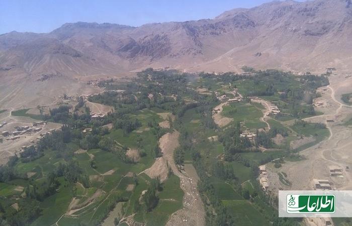 گوشهیی از ولسوالی مالستان که اخیرا گروه طالبان با راهاندازی حملاتی تلاش کرد در آنجا نفوذ کند