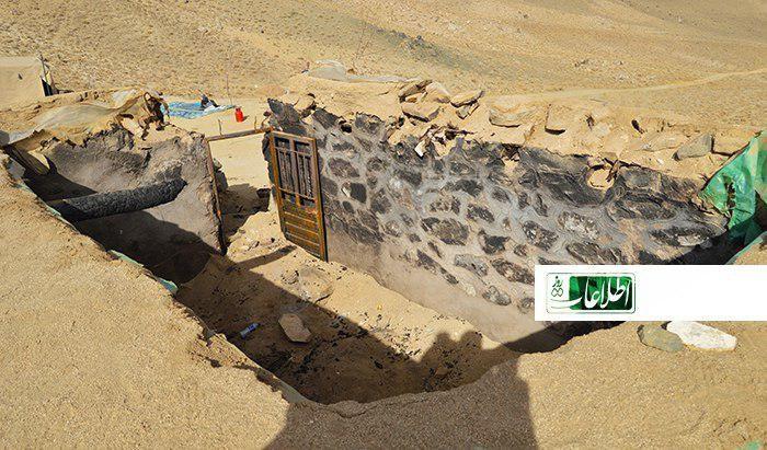 یکی از پاسگاههای قوماندان سلام اکرمی که گروه طالبان آن را به آتش کشانده است