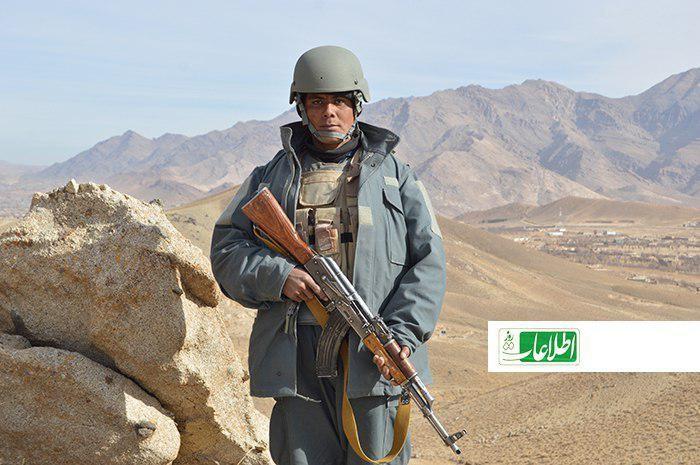 علیمحمد، یکی از سربازان پولیس محلی تحت فرماندهی قوماندان سلام اکرمی
