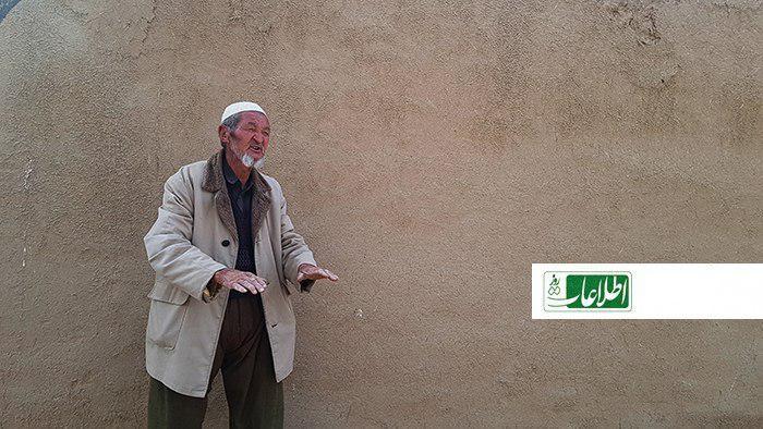 جانمحمد ۸۰ ساله که از تیررس طالبان فرار کرده است