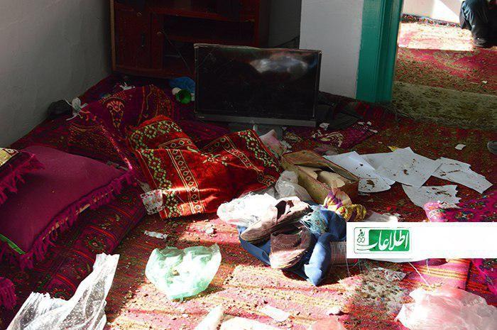 خانهی آشفتهی عبدالحبیب در روستای «علیآباد»