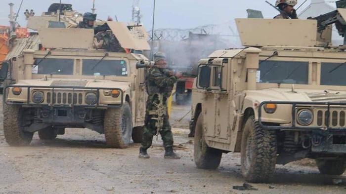 حمله به قول اردوی میوند؛ طالبان: بسیار کشتیم، مقامات ارتش: تلفات اندک است