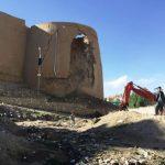 کهنقلعهی غزنین؛ بنای تاریخی عصر غزنویان، محل فاضلاب شهروندان