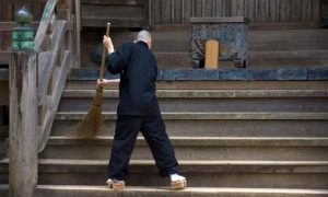 نظافت جزء ایمان جاپانیها است
