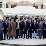 دیدار رهبران سیاسی افغان با زلمی خلیلزاد