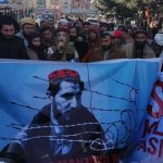 تظاهرات افغانها در برابر سفارت پاکستان
