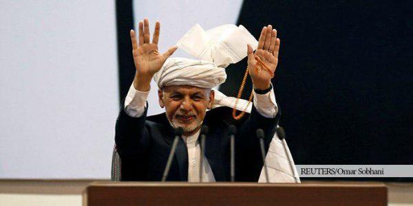محمد اشرف غنی، رییس جمهور