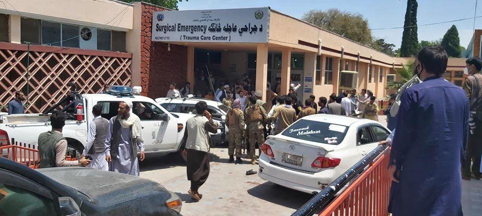 تلفات حملهی انتحاری در مراسم تشییع جنازه در ننگرهار به ۲۴ کشته و ۶۸ زخمی افزایش یافت