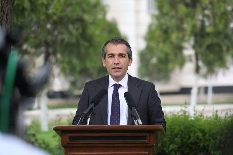 صدیق صدیقی، سخنگوی ارگ ریاستجمهوری،
