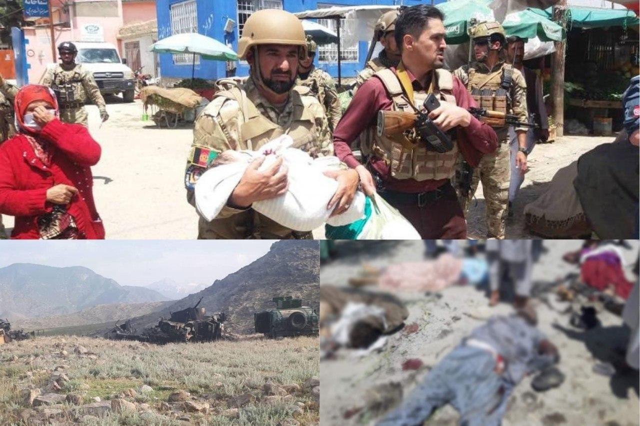 تولد در جنگ، مرگ در انتحاری؛ روز خونین افغانستان چگونه شب شد؟