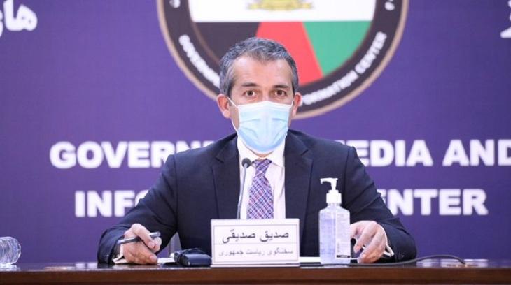 صدیق صدیقی، سخنگوی ریاستجمهوری