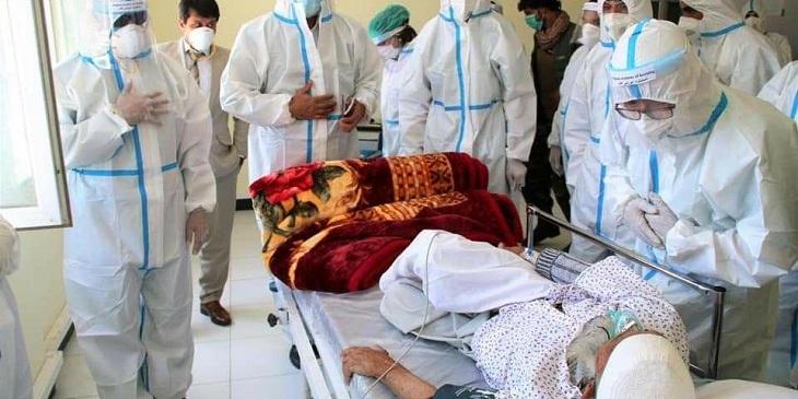 کرونا در افغانستان