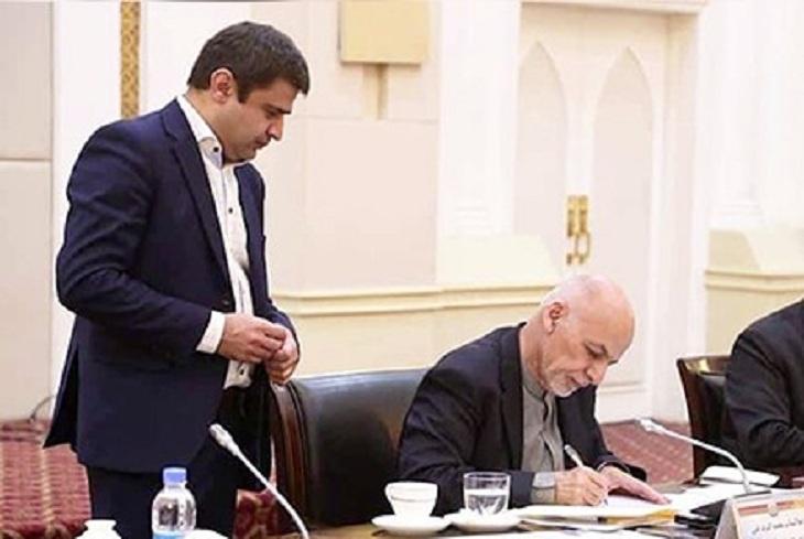فضل محمود فضلی و اشرف غنی