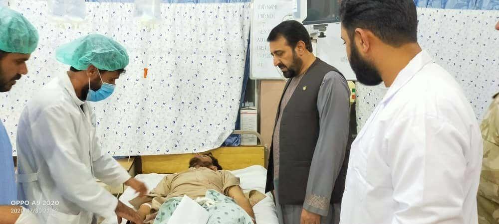 حملات راکتی نظامیان پاکستانی بر ولسوالی اسپینبولدک قندهار
