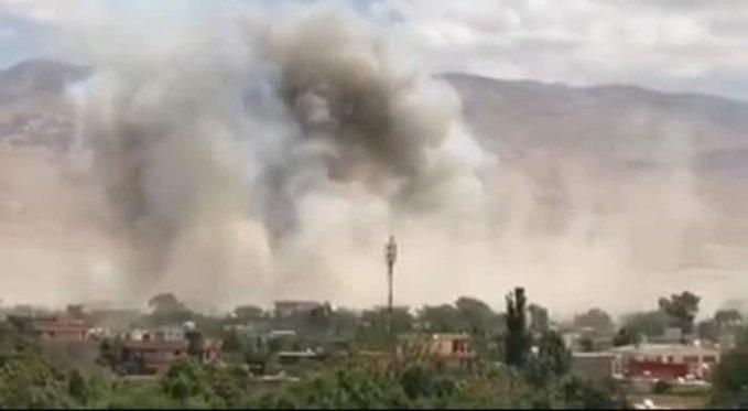 حملهی موتربمب طالبان در شهر ایبک سمنگان