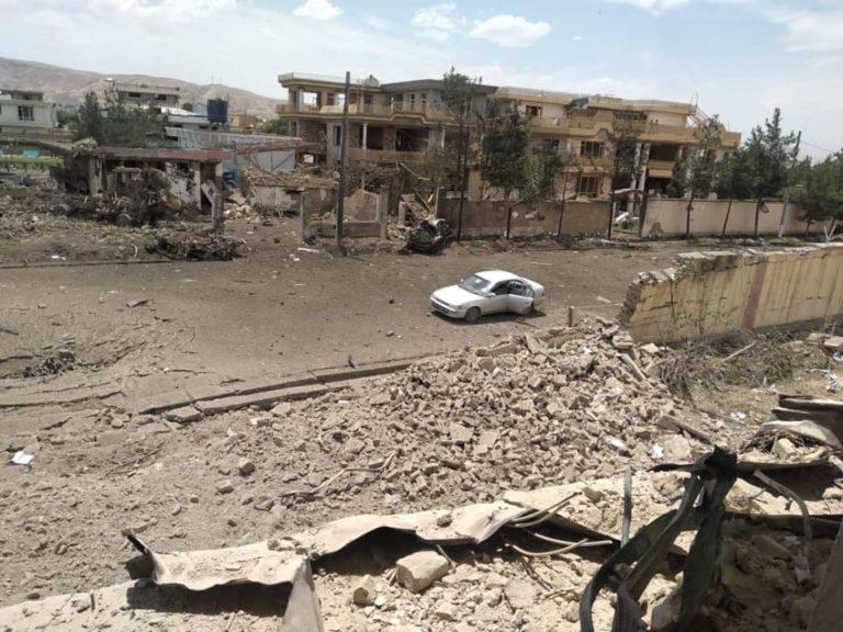 حملهی طالبان بر ریاست امنیت ملی در سمنگان