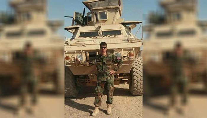 این سرباز ارتش در دهم جوزا 1399، وقتی هنوز 27 سال سن داشت، خودش را به دار آویخت/ عکس ارسالی به اطلاعات روز