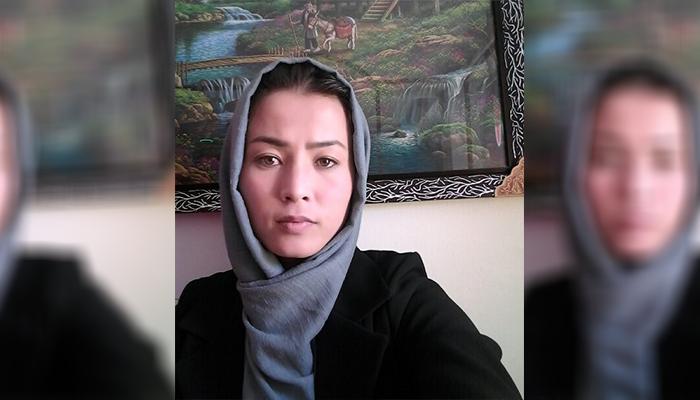 حسینه سخیزاده مدتی در زادگاهش، ولسوالی ورس هم صنف سوادآموزی برگزار کرده است. عکس ارسالی به اطلاعات روز