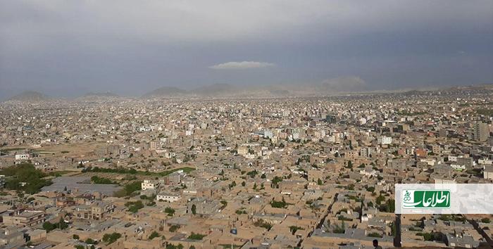 نمایی از ناحیه سیزدهم شهر کابل که دزدی و جرمهای جنایی در آن افزایش یافته است