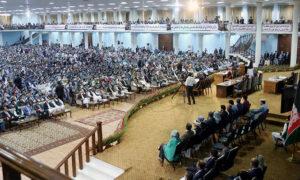 حکومت خوشحال از فیصله لویهجرگه؛ گره کور صلح باز شد؟