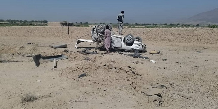 کشتهشدن چهار غیرنظامی در انفجار ماین در قندهار؛ غنی: طالبان از خشونت دست بردارند