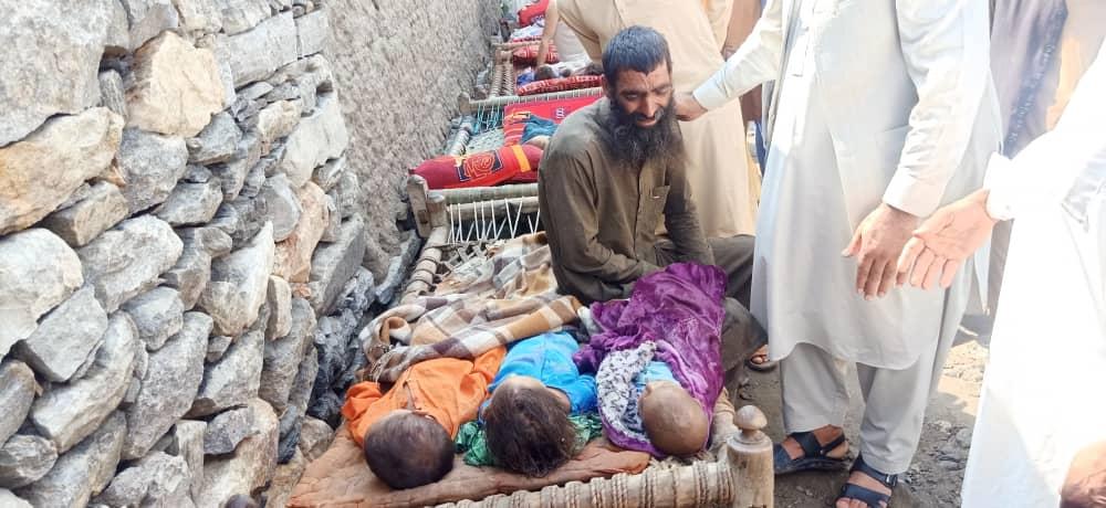 ۱۶ کودک و یک زن در پی جاری شدن سیلاب شدید در «کوز کنر» ننگرهار جان باختند