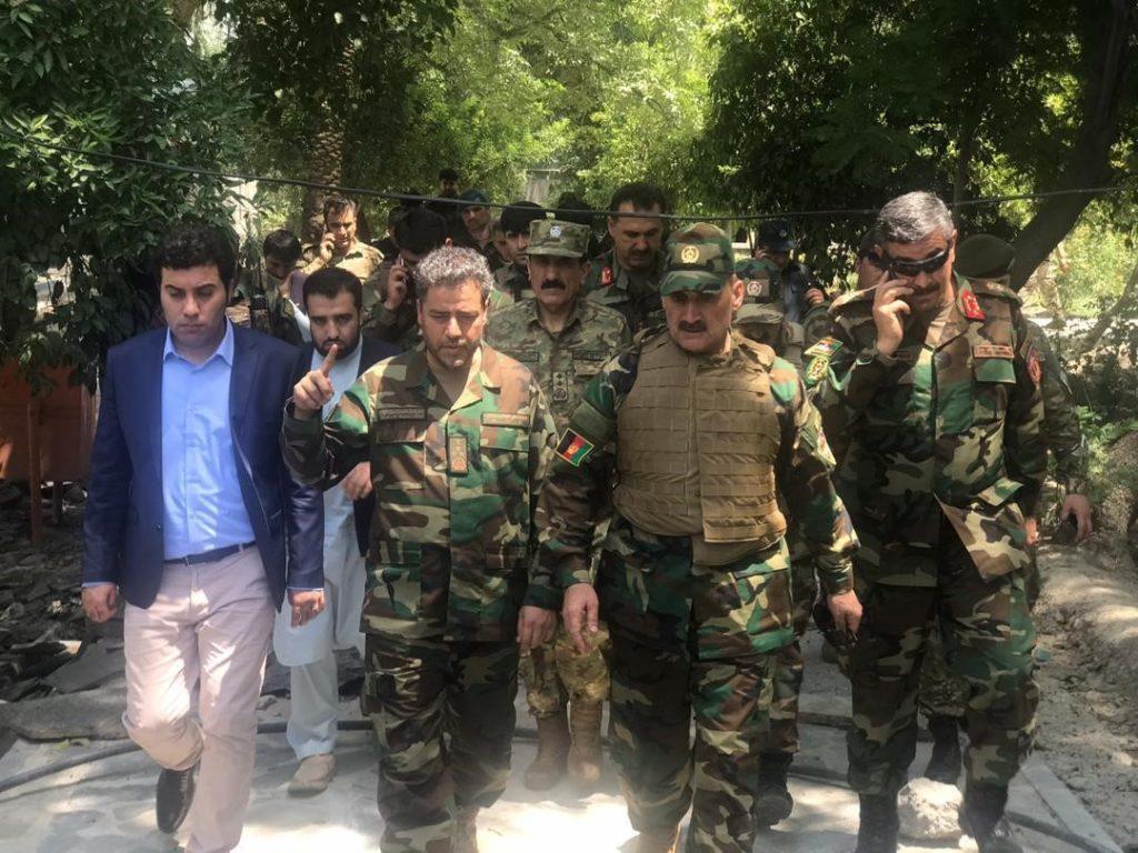 سفر یاسین ضیا به ننگرهار برای مدیریت عملیات پاکسازی حمله بر زندان ننگرهار