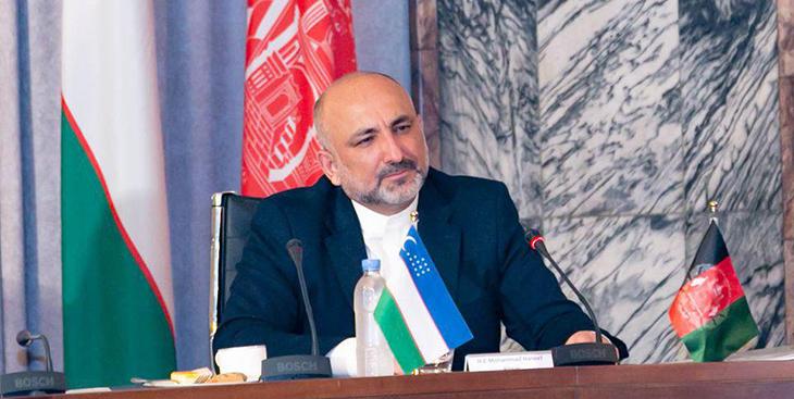 سرپرست وزارت خارجه در رأس یک هیأت بلندرتبهی دولتی به تاجیکستان رفت
