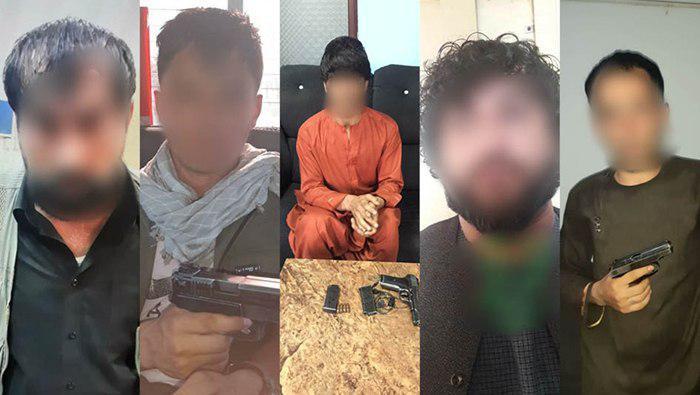 در یک هفتهی گذشته ۳۳ نفر به اتهام ارتکاب جرایم جنایی در کابل بازداشت شدند